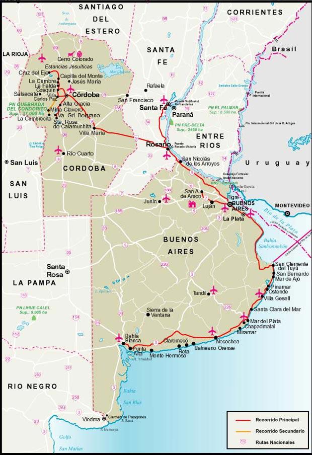 Mapa Regi 243 N De Cuyo De Argentina Provincias Lim 237 Trofes