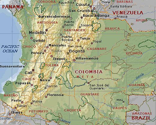 Mapas de Cartagena de Indias  Colombia  Amrica del Sur