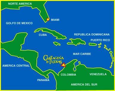Cartagena De Indias Colonial Paradise In Colombia - Cartagena de indias map