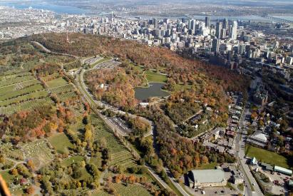 Mont Royal (Monte Real) en Montreal