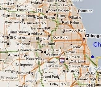 Ubicación Geográfica De Chicago Illinois Dónde Queda Chicago - Mapa de illinois