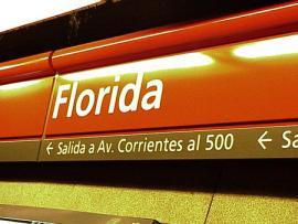 Station Florida dans le microcentro