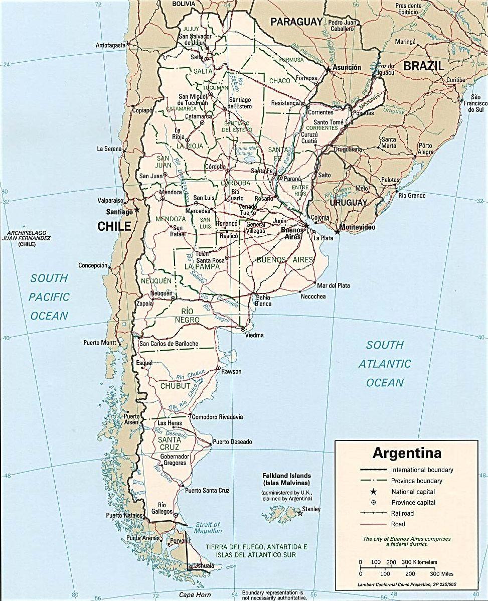 Mapas de Bariloche - Planos de calles y rutas