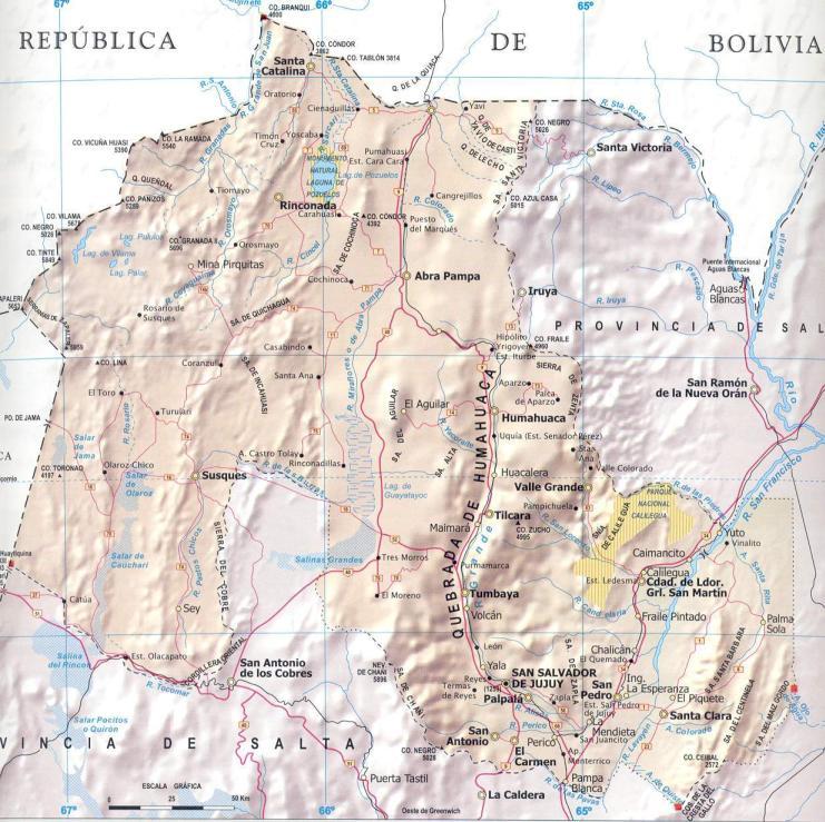 ubicacion geográfica de jujuy - donde queda?